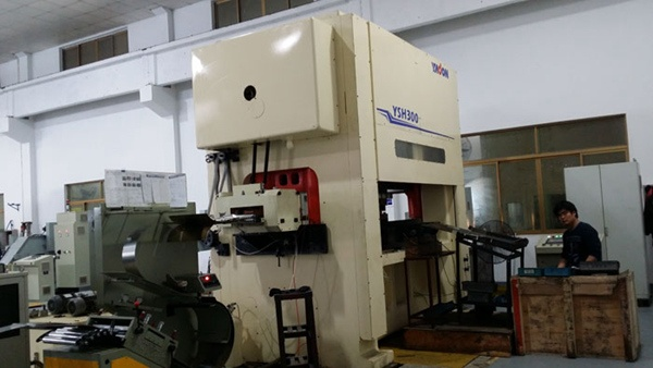 NC High-Speed Precision Stamping Line