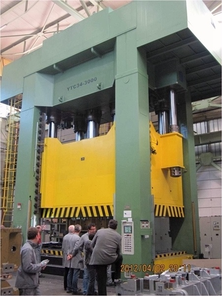 High Accuracy Hydraullic Press